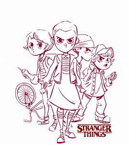 Pin Stranger Things Logo Printable Images To Pinterest