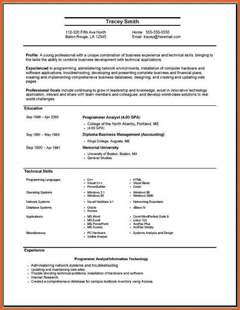 Name Of Skills For Resume by Comprehensive Resume Format Nursing Resume Format Free