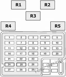Fuse Box Diagram Nissan Altima  L30  1998