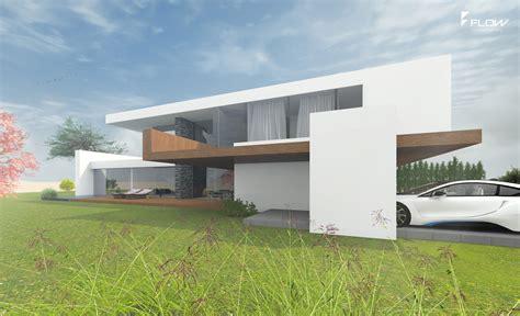 Media Lounge  Architektenhaus  Designhaus Bauen