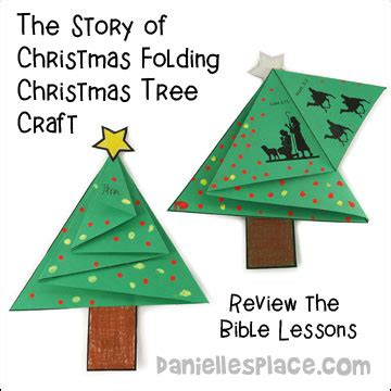 lesson 5 the story the rest of the story 121 | folding christmas tree card craft 5
