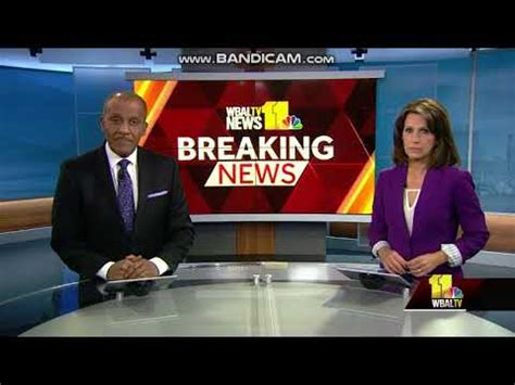 WBAL-TV 11 News Tonight at 11pm open August 2, 2018 - YouTube
