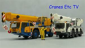 Conrad Terex Challenger 3160    Demag Ac 55 Mobile Cranes