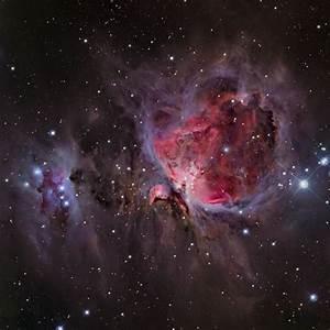 M42, Orion nebula, Trapezium, Running man, Ghost Nebula