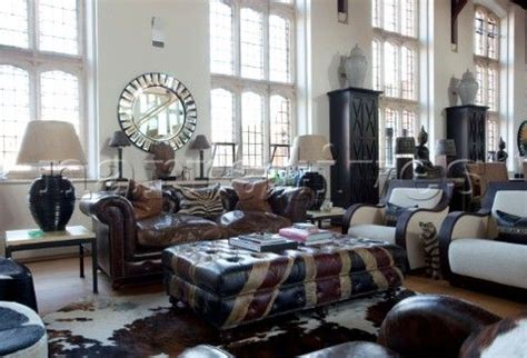 Union Settee by Leather Chesterfield Sofa And Union Patterned Leather