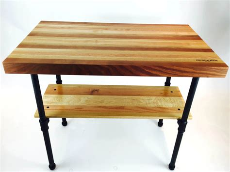 Butcher Block Work Table  Purposeful Design