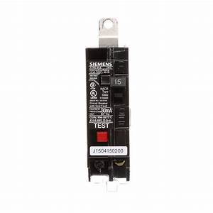 Eaton 15 Amp Combination Ground Fault Circuit Interrupter