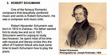 Composers of Piano Music (Romantic Period ...