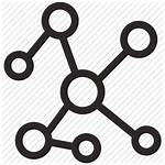 Icon Network Connection Social Connections Icons Communication