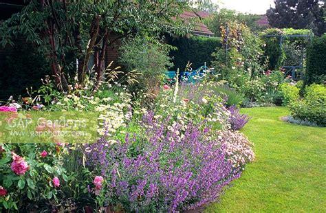 Gap Gardens  Summer Flower Bed In Cottage Garden Image
