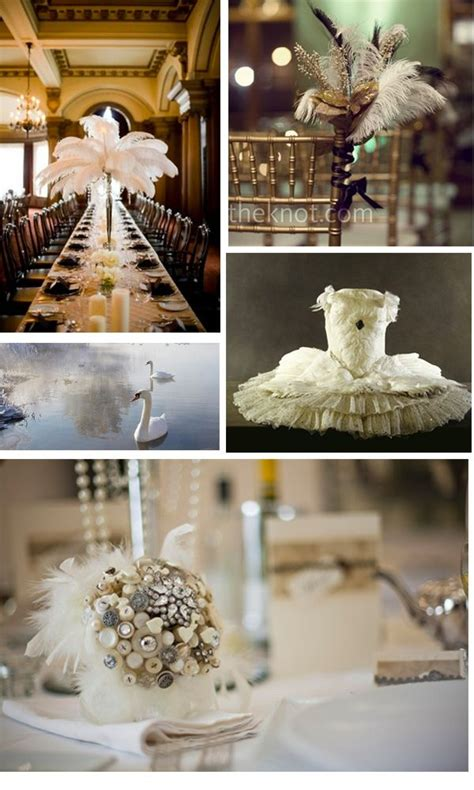 Wedding Themes by Swan Lake Wedding Theme Feather Wedding Theme Ideas In
