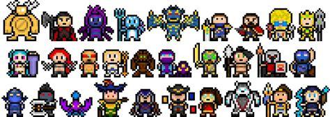 League Of Legends Pixel Art. Minecraft Blog