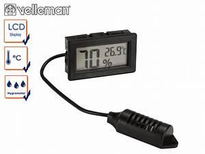 Feuchtigkeit In Wänden Messwerte : digital einbauthermometer mit hygrometer thermometer innen au en feuchtigkeit ebay ~ Orissabook.com Haus und Dekorationen