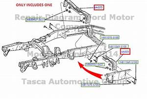 Brand New Oem Rear Frame Support Ford F150 F250 Expedition