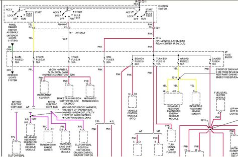 Gmc Ignition Wiring Diagram by 97 Gm Ignition Switch Wiring Diagram Wiring Source