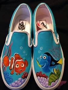 Custom, Painted, Vans, Shoes, 75