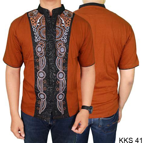 baju koko pria muslim lengan pendek baju koko modern