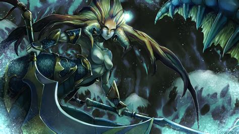 naga siren gallery dota  art desktop wallpaper hd