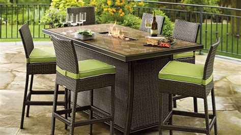 patio furniture fire pit table set outdoor fire pit furniture sets peenmedia com