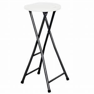 Tabouret Bar Pliant : chaise bar pliante achat vente chaise bar pliante pas ~ Melissatoandfro.com Idées de Décoration