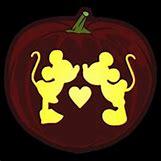 Mickey And Minnie Pumpkin Carving Patterns | 200 x 200 jpeg 7kB