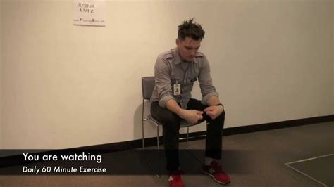 60 minute in chair exercise for seniors youtube