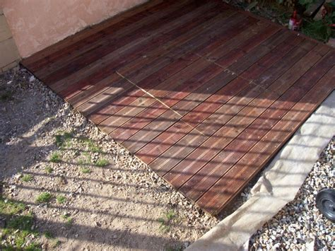 terrasse pas cher et facile terrasse bois facile pas cher