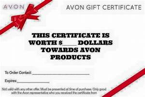 1000 ideas about gift certificates on pinterest gift With avon gift certificates templates free