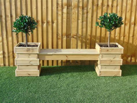 garden seating area bench set   beehive decking