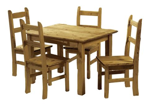 4 chair table set mexican pine dining table and 4 chairs corona budget