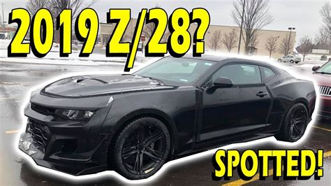 2020 The All Chevy Camaro by Spotted 2019 2020 6th Camaro Z 28