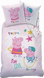 Bettwäsche Peppa Wutz : peppa pig peppa wutz kinder bettw sche set 135 x 200 80 x ~ Watch28wear.com Haus und Dekorationen