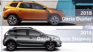Dimension Duster 2018 : 2018 dacia duster vs 2018 dacia sandero stepway technical comparison youtube ~ Medecine-chirurgie-esthetiques.com Avis de Voitures