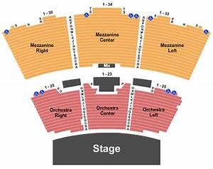Grand Sierra Theatre Seating Chart