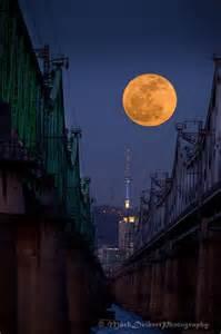 Full Moon Over Seoul
