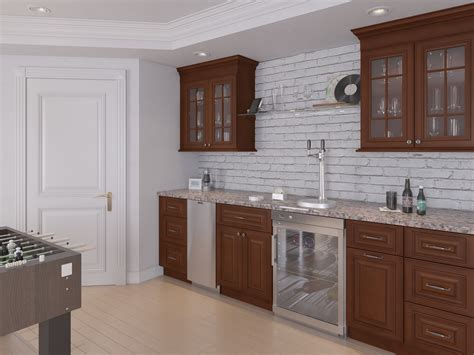 signature chocolate ready  assemble kitchen cabinets  rta store