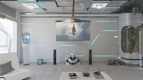 Futuristic Interior Design On Behance