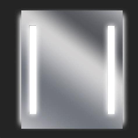 miroir lumineux avec 233 clairage int 233 gr 233 l 60 x h 70 cm ayo leroy merlin