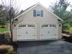 2 Car Garage with Storage