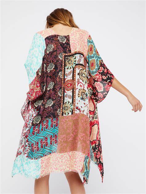 lyst  people voodoo child patchwork kimono