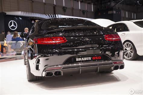 Geneva Motor Show Brabus 850 60 Biturbo Coup
