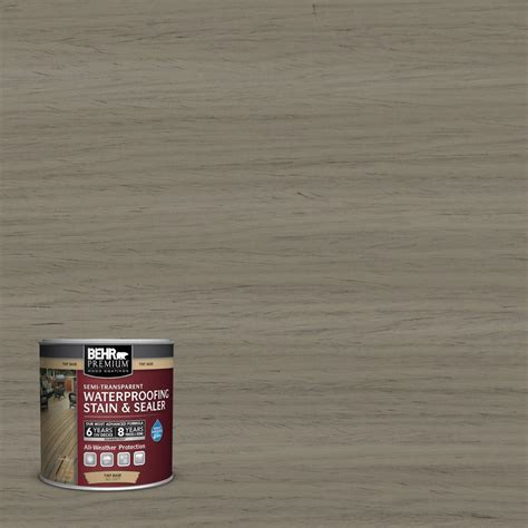 Home Depot Behr Stain And Sealer