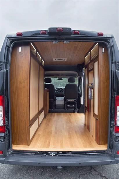 Camper Conversion Interior Converted Cargo Sprinter Trailer