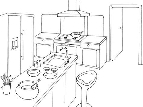 dessin evier cuisine coloriage cuisine sur jeudefille com
