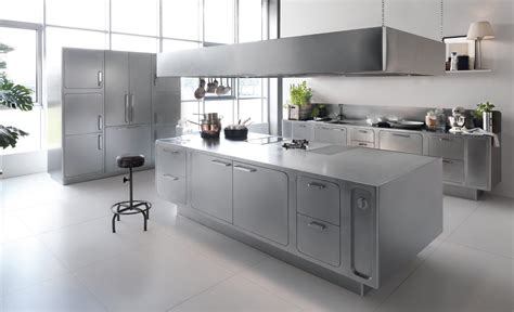 stainless steel kitchen ideas 18 beautiful stainless steel kitchen design ideas