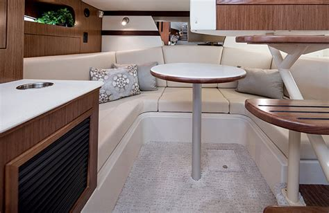 Convertible Settee by The Cruisers Yachts 35 Express Sport Serenity