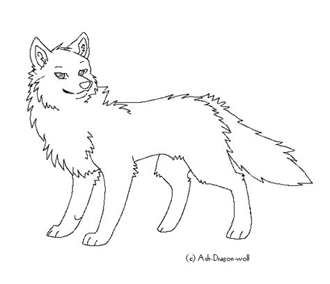 wolf template wolf template by ash wolf on deviantart