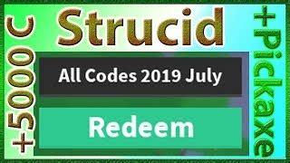 promo codes  strucid