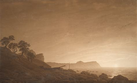 caspar david friedrich kunstwerk file caspar david friedrich view of arkona with rising moon c 1805 1806 project