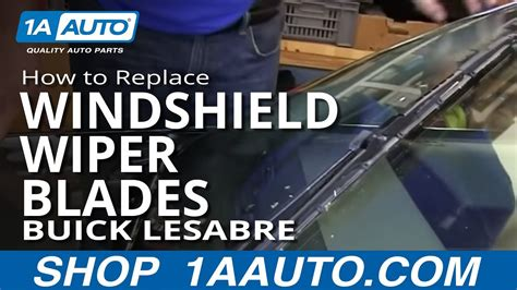 replace windshield wiper blades   buick lesabre